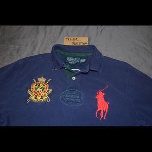Ralph Lauren Polo Custom Fit Big Horse M Shirt